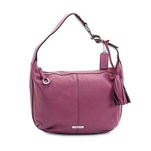 Coach Avery Leather Small Hobo Handbag 👜